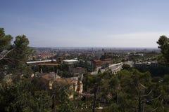 Arquitectura da cidade de Barcelona Imagem de Stock Royalty Free