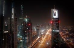 Arquitectura da cidade de Dubai Imagem de Stock