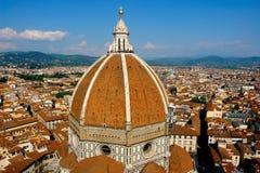 Arquitectura da cidade de Florença Fotos de Stock Royalty Free