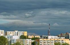 Arquitectura da cidade de Gdansk Zaspa Fotos de Stock