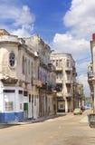 Arquitectura da cidade de Havana Fotografia de Stock