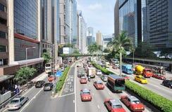 Arquitectura da cidade de Hong Kong Imagem de Stock