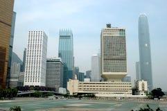 Arquitectura da cidade de Hong Kong Fotos de Stock