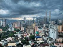 Arquitectura da cidade de Kuala Lumpur Fotos de Stock