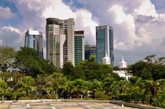 Arquitectura da cidade de Kuala Lumpur Foto de Stock