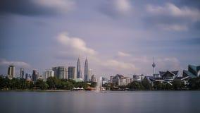 Arquitectura da cidade de Kuala Lumpur Imagens de Stock