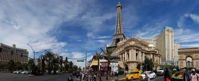 Arquitectura da cidade de Las Vegas foto de stock royalty free