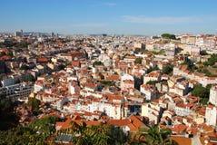 Arquitectura da cidade de Lisboa em Portugal fotos de stock royalty free