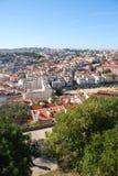 Arquitectura da cidade de Lisboa em Portugal foto de stock