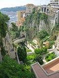 Arquitectura da cidade de Monaco Imagens de Stock Royalty Free
