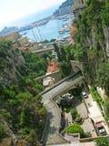 Arquitectura da cidade de Monaco Fotos de Stock Royalty Free