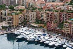 Arquitectura da cidade de Monaco Imagem de Stock Royalty Free