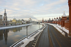 Arquitectura da cidade de Moscovo Foto de Stock Royalty Free