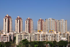 Arquitectura da cidade de Mumbai Fotos de Stock Royalty Free