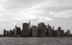 Arquitectura da cidade de New York Fotos de Stock Royalty Free