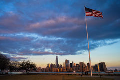 Arquitectura da cidade de New York Foto de Stock Royalty Free