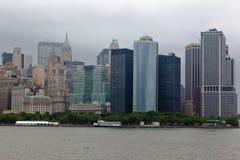 Arquitectura da cidade de New York City Imagens de Stock Royalty Free