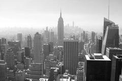 A arquitectura da cidade de New York City Fotografia de Stock Royalty Free