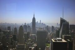 A arquitectura da cidade de New York City Imagens de Stock