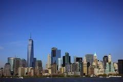 A arquitectura da cidade de New York City Imagens de Stock Royalty Free