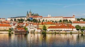 Arquitectura da cidade de Praga Imagens de Stock