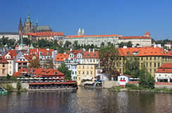 Arquitectura da cidade de Praga velha. Imagem de Stock Royalty Free