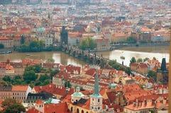 Arquitectura da cidade de Praga velha Fotos de Stock Royalty Free
