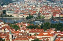 Arquitectura da cidade de Praga velha Foto de Stock Royalty Free