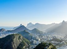 Arquitectura da cidade de Rio de Janeiro Fotos de Stock