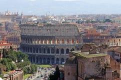Arquitectura da cidade de Roma Fotografia de Stock