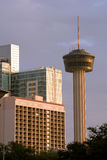 Arquitectura da cidade de San Antonio Fotos de Stock Royalty Free