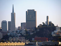 Arquitectura da cidade de San Francisco Imagens de Stock Royalty Free