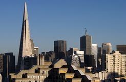 Arquitectura da cidade de San Francisco Fotografia de Stock Royalty Free