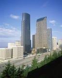 Arquitectura da cidade de Seattle Imagem de Stock Royalty Free