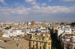 Arquitectura da cidade de Sevilha Fotos de Stock Royalty Free