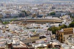 Arquitectura da cidade de Sevilha Fotografia de Stock Royalty Free