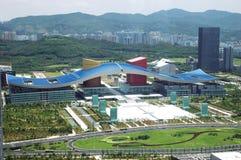 Arquitectura da cidade de Shenzhen Fotografia de Stock Royalty Free