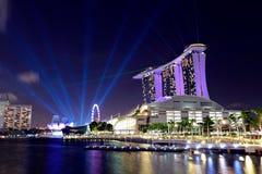 Arquitectura da cidade de Singapore imagens de stock royalty free