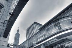 Arquitectura da cidade de Taipei Imagem de Stock Royalty Free