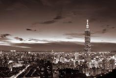 Arquitectura da cidade de Taipei Imagens de Stock