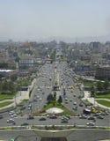 Arquitectura da cidade de Tehran Foto de Stock Royalty Free
