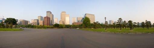 Arquitectura da cidade de Tokyo foto de stock royalty free
