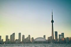 Arquitectura da cidade de Toronto Foto de Stock Royalty Free