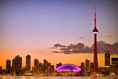 Arquitectura da cidade de Toronto Imagens de Stock Royalty Free
