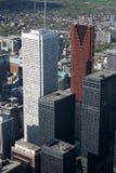 Arquitectura da cidade de Toronto Fotos de Stock Royalty Free