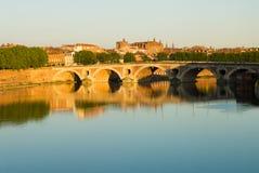 Arquitectura da cidade de Toulouse foto de stock royalty free