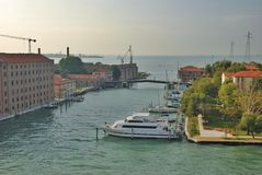 Arquitectura da cidade de Veneza Fotografia de Stock Royalty Free