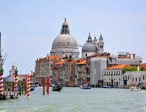 Arquitectura da cidade de Veneza, Italy fotografia de stock