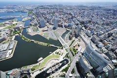 Arquitectura da cidade de Yokohama Imagem de Stock