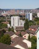 Arquitectura da cidade de Zurique Imagem de Stock Royalty Free
